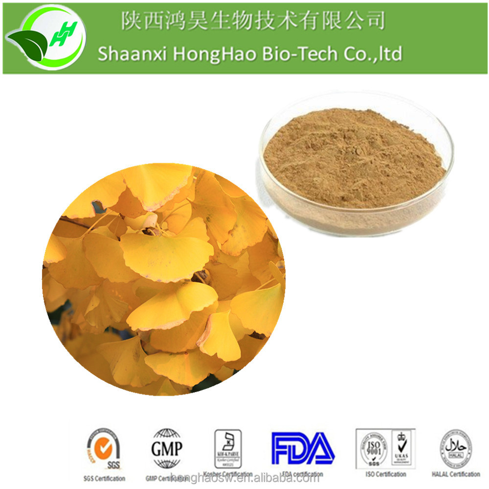 For cure hypertension ingredients Ginkgo 24% Gingko Flavoglycosides 6% Total terpene lactones extract of ginkgo biloba