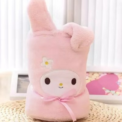 Plush animal blanket with cute animals blanket soft stuffed <strong>rabbit</strong> surround blanket for baby toys