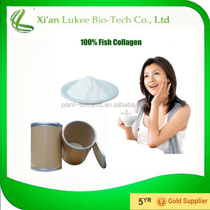 Health and beauty product water soluble fish collagen powder