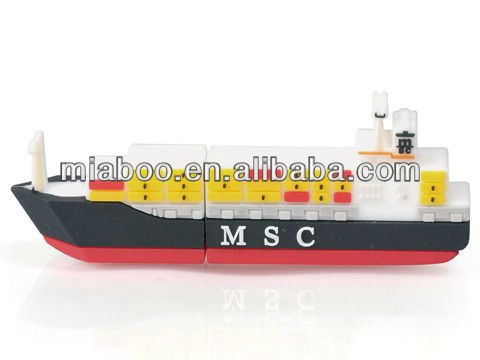 shipping container usb flash drive, custom made usb pen drive, cargo ship shaped usb