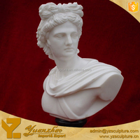 life size marble bust sculpture for sale