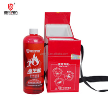 Wall mounted fire extinguisher and Backpack fire extinguisher Bottle type