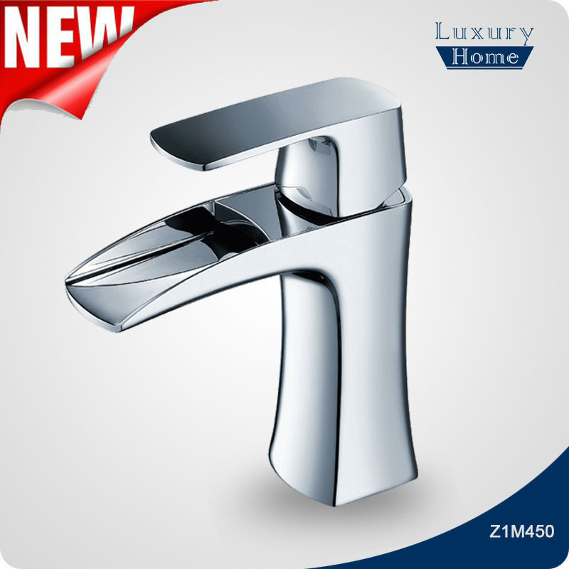 Alibaba Single handle chrome finish wash hair basin faucet