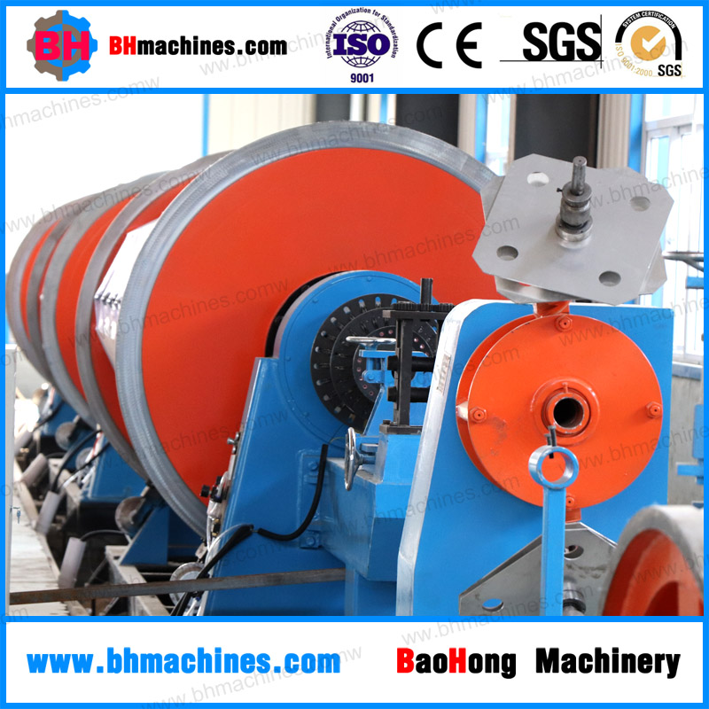 Cable Conductor Making Machine JLK 500/12+18+24 Frame Type Rigid Frame Stranders Machine for LV MV HV EHV Power Cable