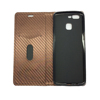 Carbon Fiber Magnetic Leather Case For oneplus 5T Stand Leather Case