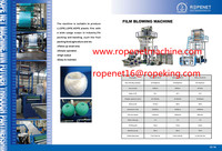 2014 hot sale China manufacturing blowing machine for pp film Email:ropenet16@ropeking.com