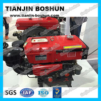 professional manufacturer agricultural machine Single cylinder diesel engine hp3-30 hand & electric start 4 stroke R192 ZS1125