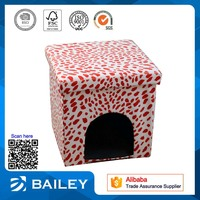 popular pet house folding storage ottoman
