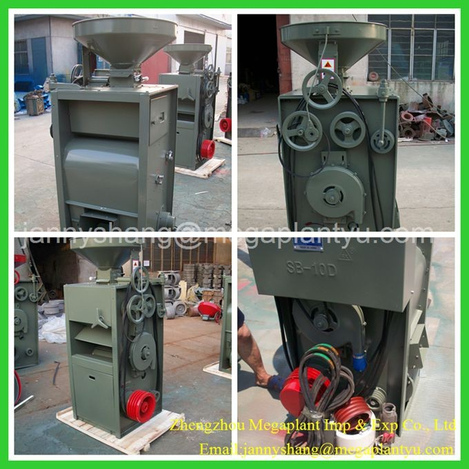 CE&ISO approved diesel engine small rice mill machine for sale