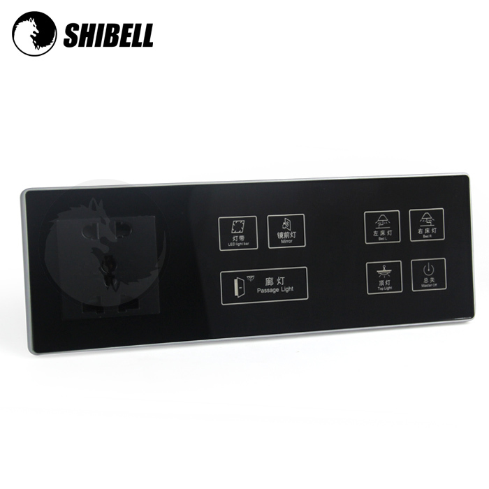 SHIBELL OEM hotel all kind of wall switch 2 pin and 3 pin switch and socket