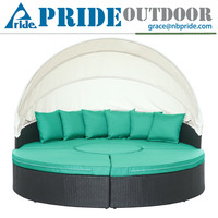 Outdoor Daybed Waterproof Canopy Outdoor Daybed