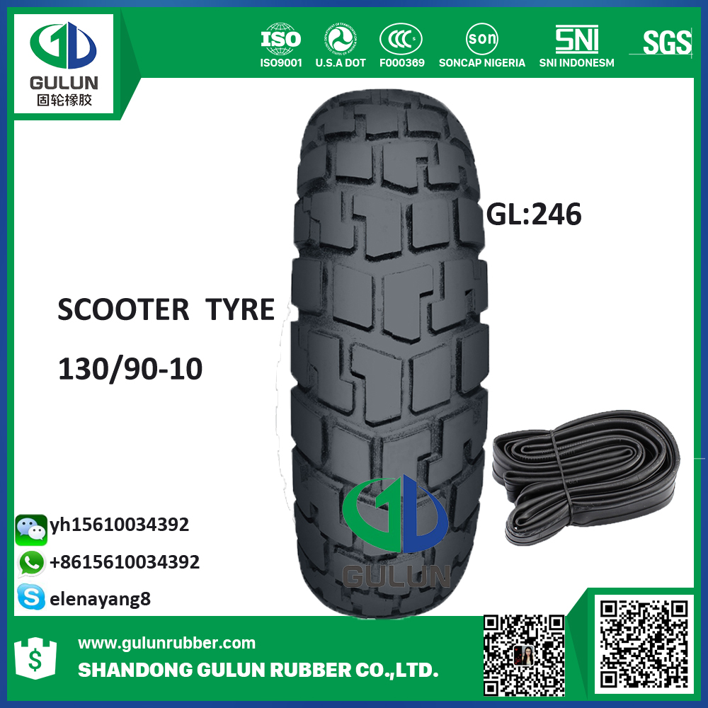 Wholesale high quality motorcycle tire rubber inner tube natural 130/90-15 275-18 300-8