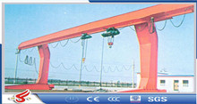Outdoor use mudium work duty L shape 5t single girder gantry crane from China