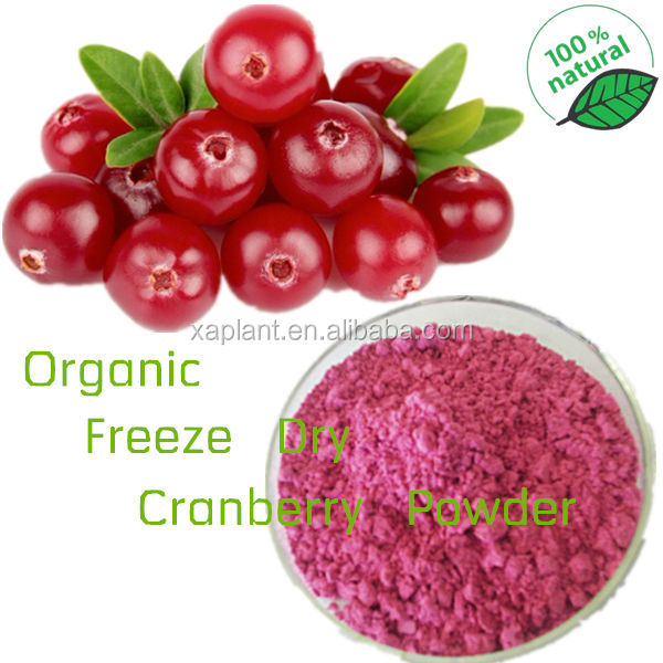 100% Water-soluble Anthocyanidins/Proanthocyanidins/cranberry powder/cranberry extract powder