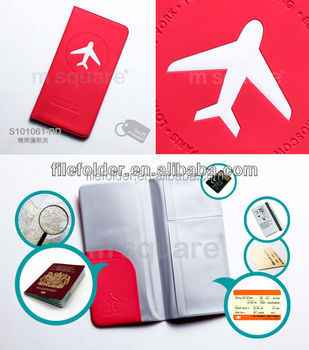PVC fashionable Travel Passport Cover