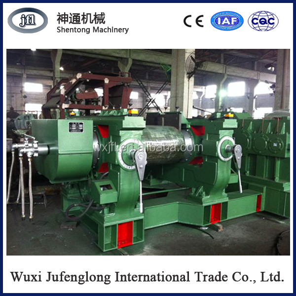 High efficiency rubber recycling machine crusher/XKP-450 Waste Tire recycling Machinery