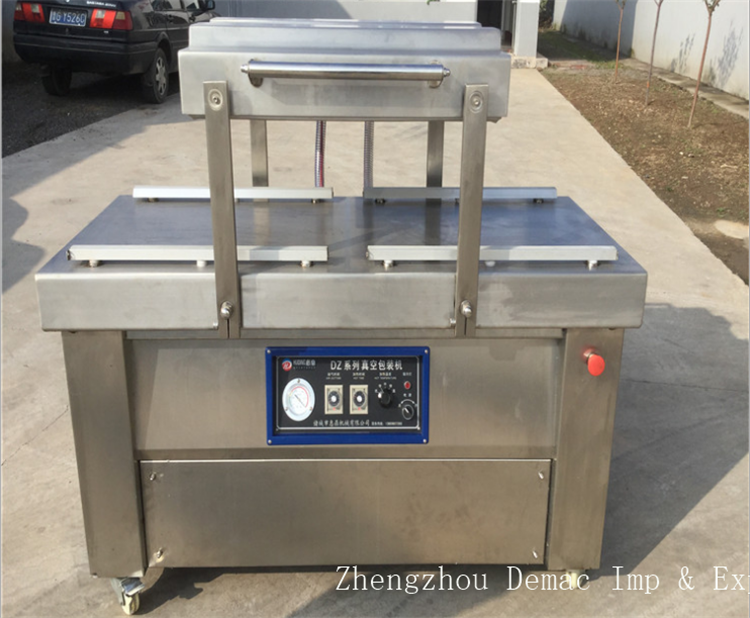 Food vacuum package equipment/automatic rice vacuum packing machine for sale