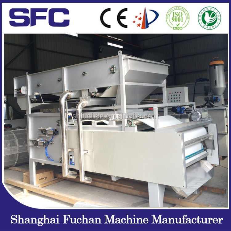 sludge dewatering equipment/sludge dehydrator for wastewater treatment plant