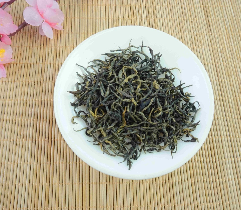 The origin of gansu longshen black tea refined black tea