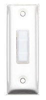 metal lighted push button illuminated switch for door chimes