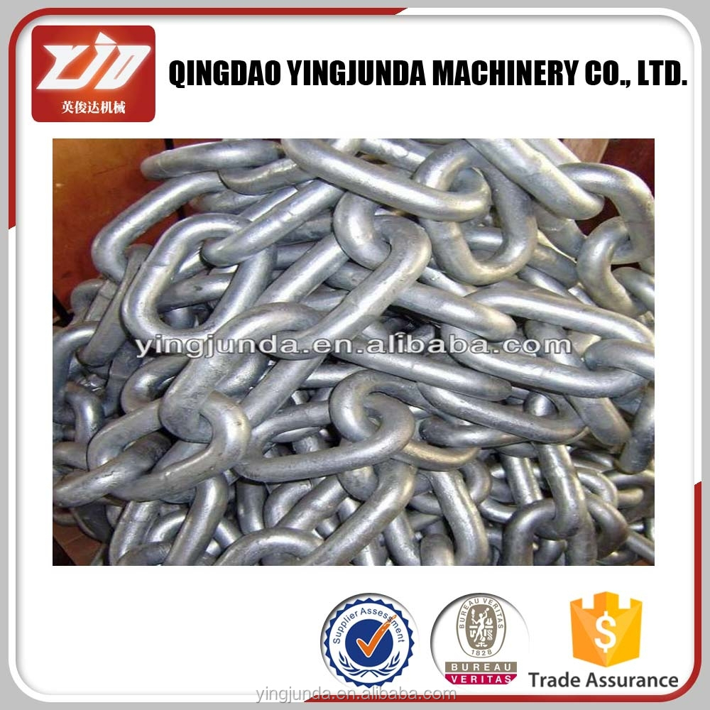 grade C three-link chain for coal transfer mining chain transport chain wholesale