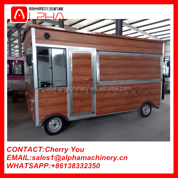 Electric food truck/food truck van/selling food truck