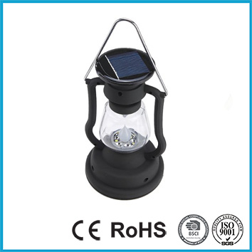 7 LED Solar Hurricane Lantern