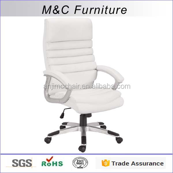 SGS tested General use white PU zhejiang executive office chair