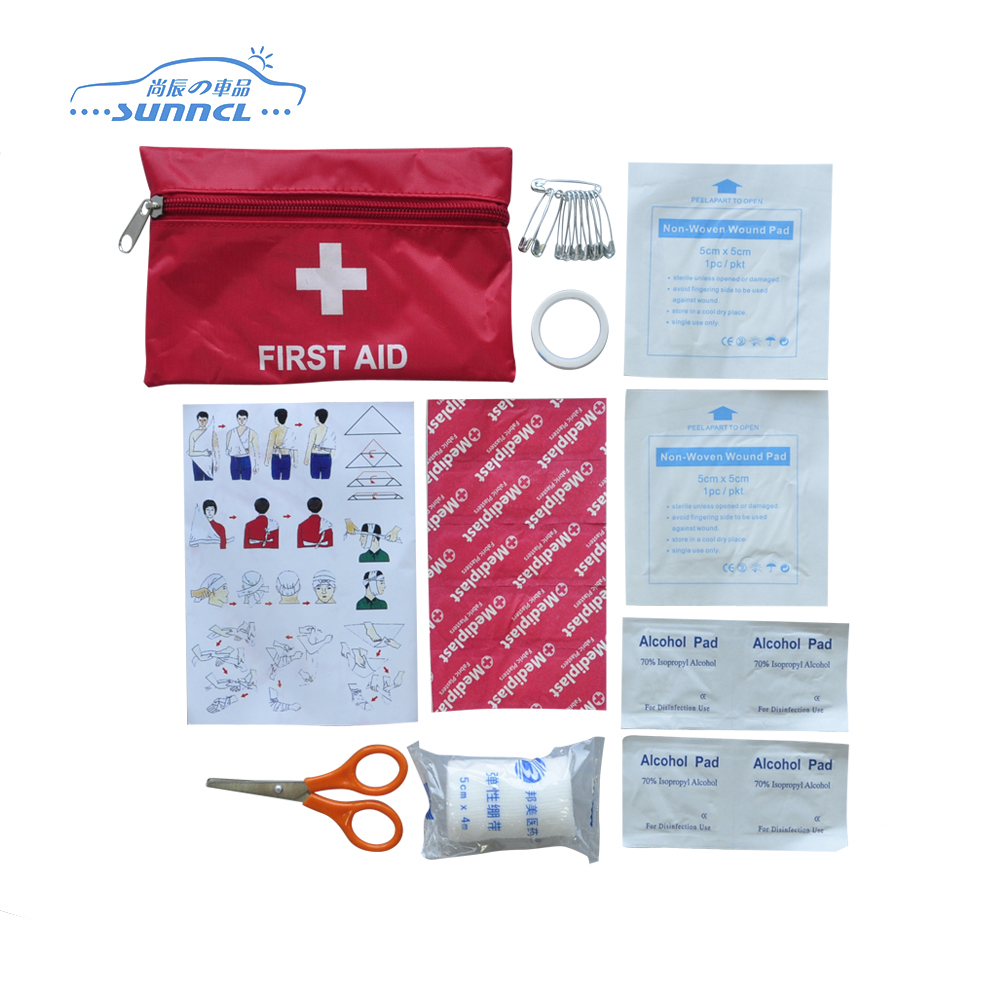 FDA CE ISO Certificate Roadside Small First Aid Kit for Promotion Travel