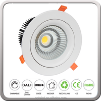 40W 50W 60W COB LED Down Light With CRI 90+ CE and SAA Approval