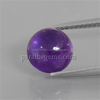 2.5ct Round Cabochon 8 mm Violet Amethyst Manufactures Suppliers In India Jaipur Natural Semi Precious 100% Genuine Gemstones