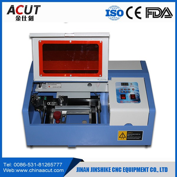 Mini CO2 Laser Rubber Stamp Making Engraving Machine Or Mini Engraver