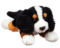 white black pug dogs puppy cub pup animals plush