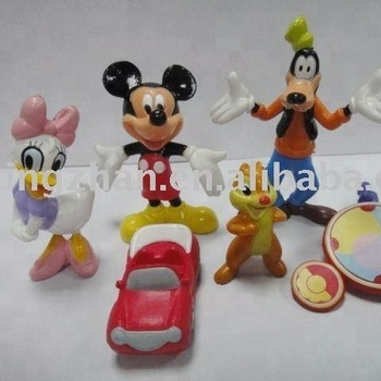 Hot Sale Cheap Small Plastic Mickey Mouse Dolls