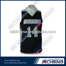 Breathable mesh fabric basketball tops light weight basketball vest