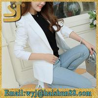 formal slim newest wholesale fit blazer,custom made blazer women