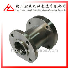 oem custom precision stainless steel pipe flange couping fabrication