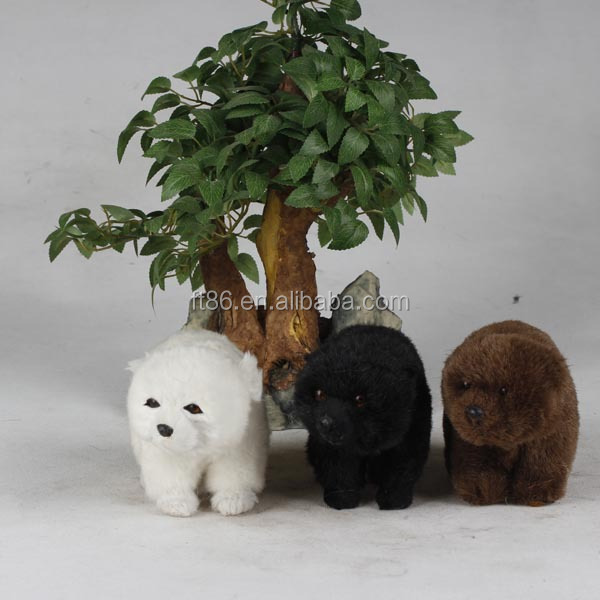 emulation animal toys polar bear plush family