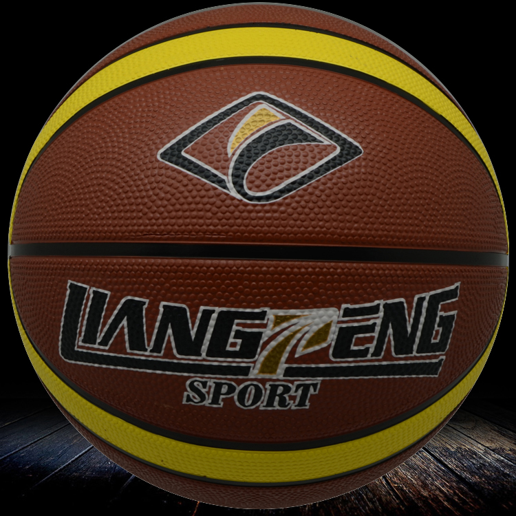 china ball suppliers rubber basketball size 7