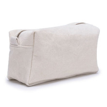 Blank Wholesale Canvas Cosmetic Bag ,Cheap Plain Cotton Cosmetic Bags