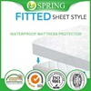 Full Mattress Protector, Waterproof, Breathable, Blocks Dust Mites, Allergens, Smooth Soft Cotton Terry Cover.