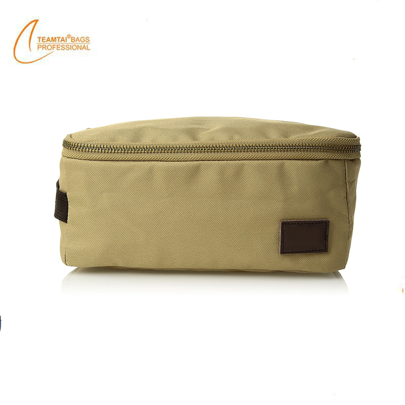 New design cotton promotional travel wash cosmetic bags