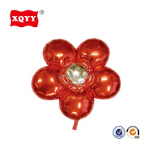 Beautiful foil helium mylar balloon Flower five petal foil balloon for party decoration