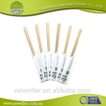 2014 wholesale high quality black bamboo chopsticks with paper sleeves tensoge bamboo disposable chopsticks