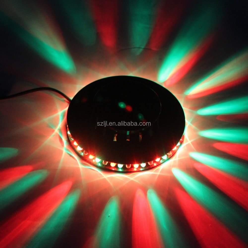 AUTO voice-activated led caso de vuelo luz negra sunflower stage light