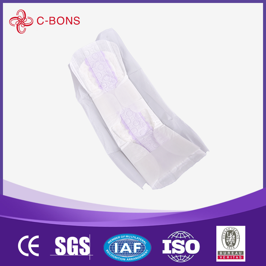 Soft touch cotton sanitary napkin anion feminine hygiene napkin sanitary pads side effects