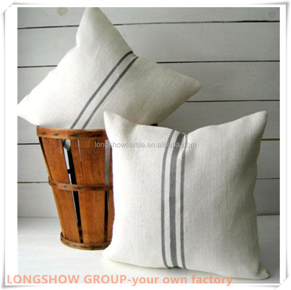 the most hospitality hotel hospital used pillow sham white bleached and embroidered