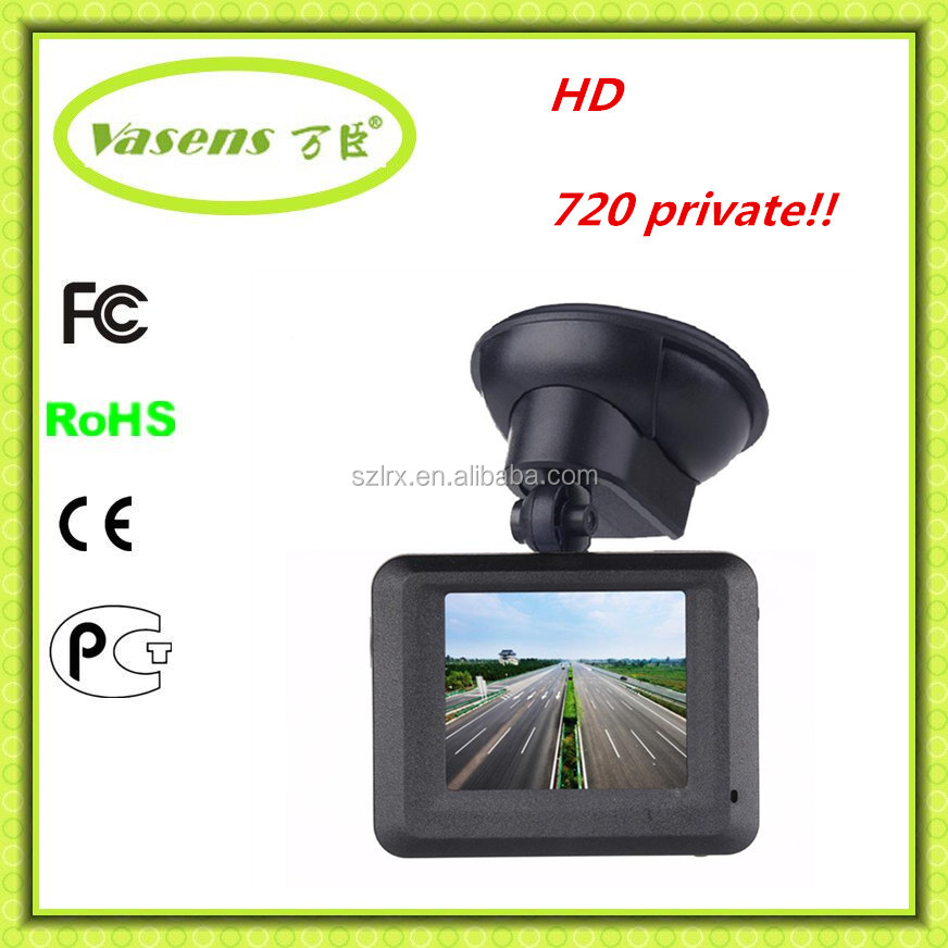 "OEM Wide View Angle 2.0"" HD 1080P Mini Car DVR With AV-IN and DVR camera"