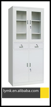 high quality office use metal hinged door file cabinet with drawer
