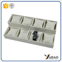 Well Designed Eco-friendly jewelry leather presentation watch display tray